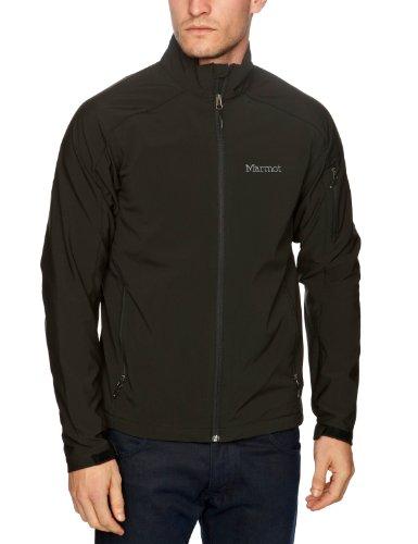 Marmot Men's Approach Softshell Jacket - Black, Medium