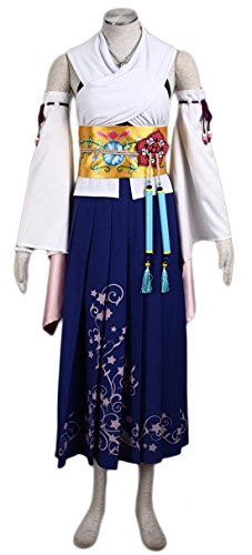 Going Coser Final Fantasy X Yuna Two-piece Set Cosplay Costume