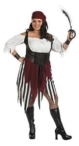Cesar - C328-001 - Costume - Déguisement - Piratesse - Taille 46 à 48