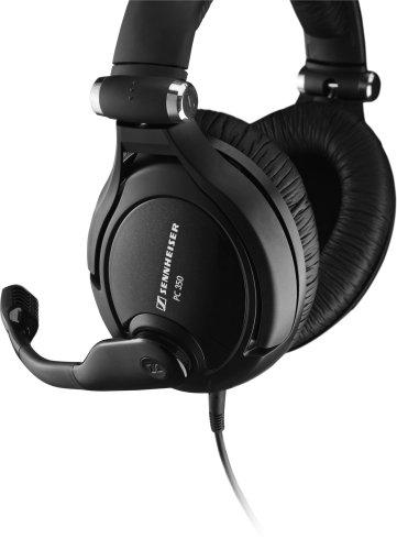 Sennheiser Communications ヘッドバンド型両耳式プレミアムゲーミングヘッドセット PC 350 502141