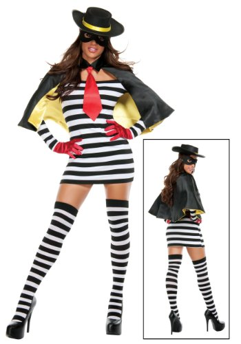 Starline Women's Hamburger Thief Costume
