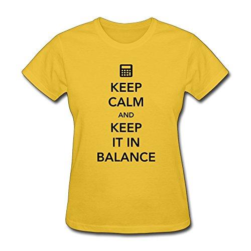 Youth Tee Cool Keep Calm Keep It Balance Gold Machine Wash front-614908