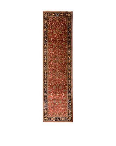 RugSense Tappeto Sarouk Rosso/Blu/Multicolore 304 x 84 cm