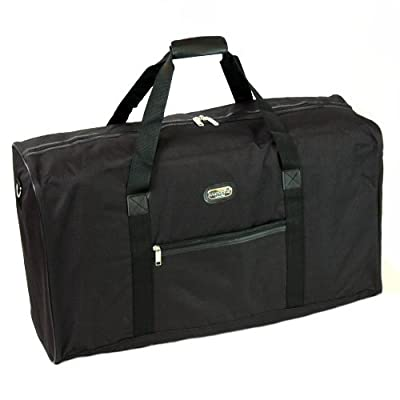 Extra Large 95 Litres Cargo Travel Bag (Black)