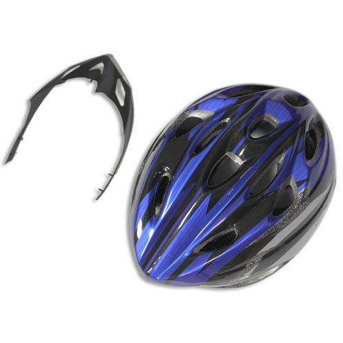 Bicycle Helmet Blue with Black
