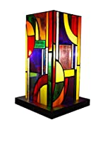 ARTE DAL MONDO Lámpara De Dormitorio Kandinsky A Colonna Multicolor
