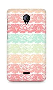 Amez designer printed 3d premium high quality back case cover for Micromax Unite 2 A106 (lace )