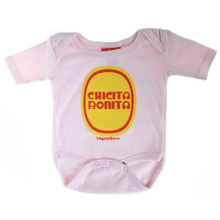 Chicita Bonita Onesie, Available in Various Sizes - Buy Chicita Bonita Onesie, Available in Various Sizes - Purchase Chicita Bonita Onesie, Available in Various Sizes (babygags, babygags Apparel, babygags Toddler Girls Apparel, Apparel, Departments, Kids & Baby, Infants & Toddlers, Girls, Shirts & Body Suits, Body Suits)