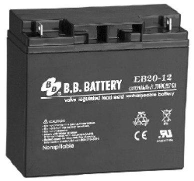 20 Ah 12V Ev Sealed Lead Acid Electric Bike Battery
