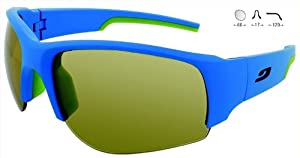 Buy Julbo Zebra Dust 4333112 BLUE GREEN Category 2 - 4 Performance Sunglasses by Julbo