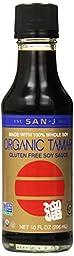 San-J Organic Wheat Free Tamari Soy Sauce -- 10 fl oz