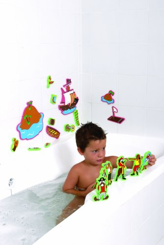 Edushape Magic Creations Bath Playset - Pirate