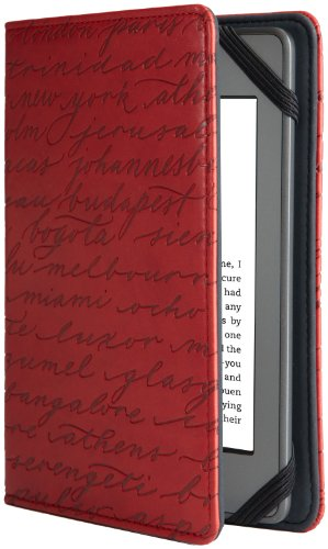 Verso Artist Series Cities Red by Sharyn Sowell for Kindle (Red) (fits Kindle Paperwhite, Kindle, and Kindle Touch)