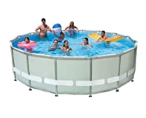 Hot Sale Intex 16-Feet by 48-Inch Ultra Frame Metal Frame Pool Set