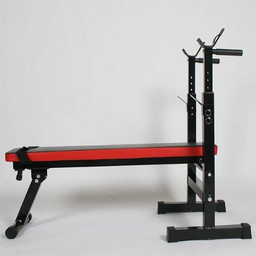 Banc d&#39,entrainement, de musculation, Station de fitness avec barre de traction incluse