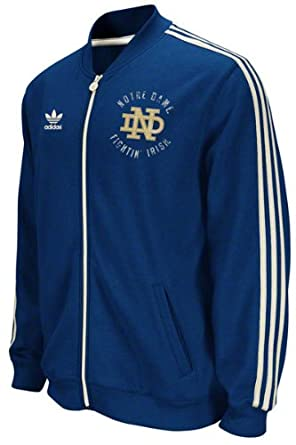 Adidas Notre Dame Fighting Irish Navy Homecoming Under the Lights Full Zip Track... by adidas