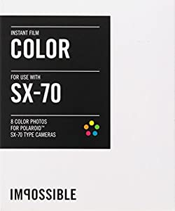 Impossible PRD2783 Color Film for Polaroid Sx-70 Cameras