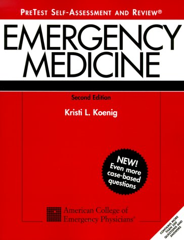 Emergency Medicine PreTest : Self Assessment and Review