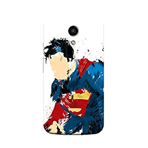 Retro Super Man Case For Motorola Moto-g 2nd Generation( moto G2)