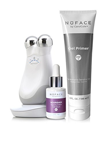 NuFace Refreshed Trinity Facial Trainer 4-Piece Kit, White