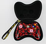 Xbox 360 Wireless Lighted Thumbstick Call of Duty Ghost Red Controller + FREE Pouch Case