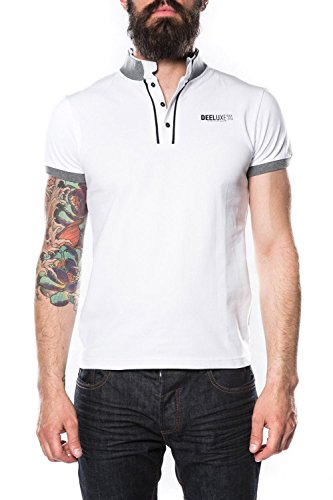 Deeluxe -  Polo  - Uomo bianco L