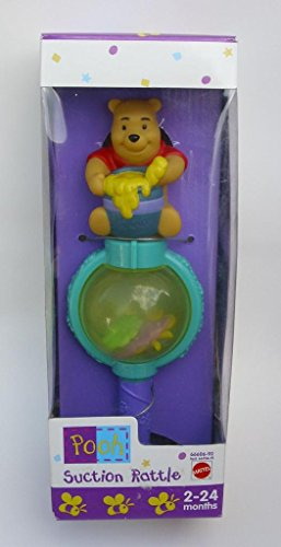 Pooh Suction Rattletoy! 2-24 Months