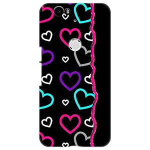 a AND b Designer Printed Mobile Back Cover / Back Case For Huawei Nexus 6P (Nexus_6P_3D_1518)