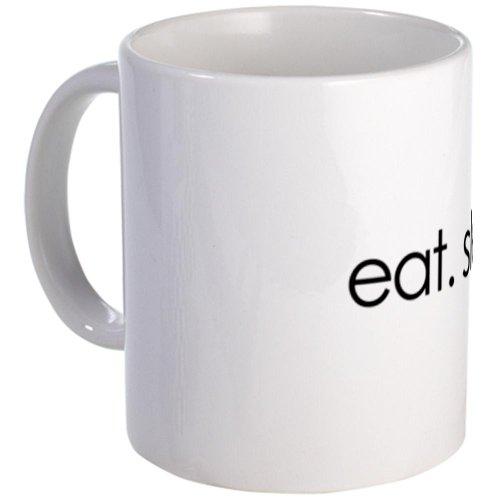 eat. sleep. tweet. funny twitter shirts Mug Mug by CafePress