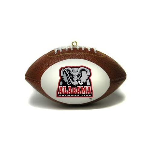 Alabama Crimson Tide Football Shaped Ornament *SALE*