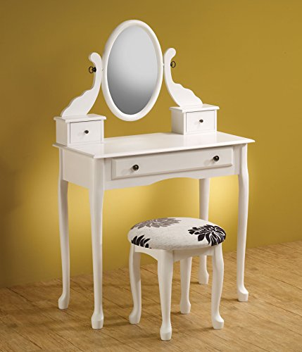 Coaster Home Furnishings Traditional Vanity, White front-368683