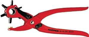 KNIPEX 90 70 220 Pince Emporte-pièces Revolver Revêtement Poudre Rouge 220 mm