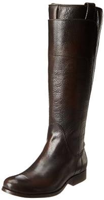 FRYE Women's melissa tall riding,Dark Brown Vintage Brush Off,6.5 M US