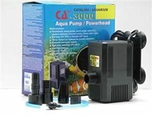 Catalina Aquarium CA 3000 Aquarium Pump 1000 GPH
