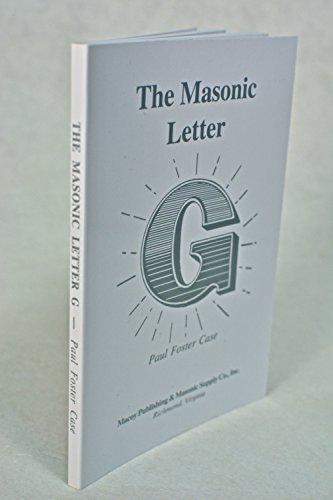 Masonic Letter G