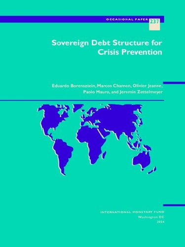 sovereign debt restructuring mechanism Discussion of more robust sovereign debt restructuring mechanisms this paper contends that any sovereign debt workout mechanism (dwm) should embody the principles of legitimacy and impartiality, to the extent possible, in order to garner the stable and long-term adherence of international stakeholders these two elements are important both for attracting support ex ante.