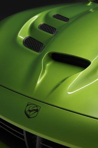 classique-et-muscle-car-ads-et-art-de-voiture-dodge-viper-srt-stryker-vert-2014-voiture-art-poster-i