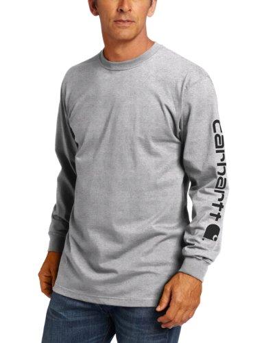 Carhartt Men's Long-Sleeve Graphic T-Shirt