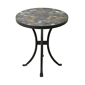 mosaic side table 18 inch patio side tables patio lawn garden