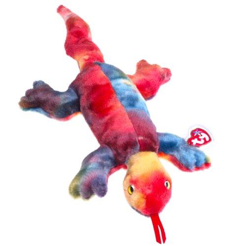Ty Beanie Buddies Lizzy - Lizard - 1