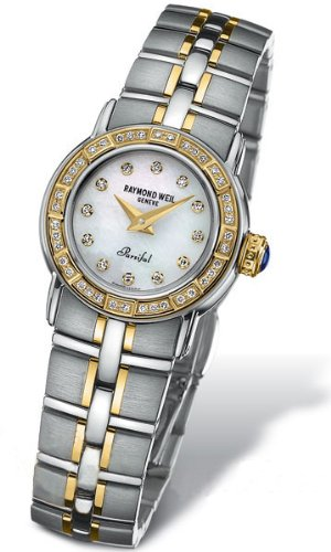 Raymond Weil Parsifal Mother of Pearl Ladies Watch 9640-STS-97081