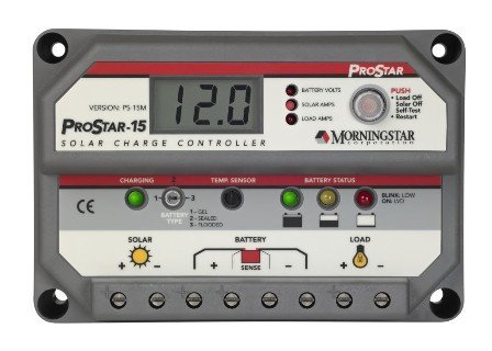 Morningstar PS-15M Prostar-15 Amp With Meter (300 Amp Electrical Panel compare prices)