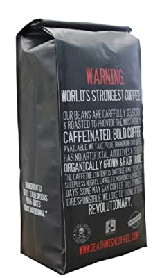 Death Wish Coffee, The World's Strongest Coffee, Fair Trade and USDA Certified Organic