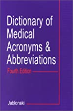 Dorlands Dictionary of Medical Acronyms and Abbreviations by Dorland