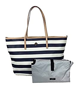 Kate Spade York Cobblestone Park Harmony Baby Bag, French Navy / Cream Stripes from Kate Spade New York