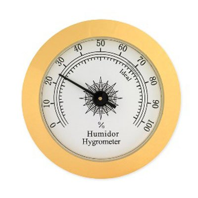 "Analog Hygrometer 2.25"" by Western Humidors by Quality Importers Trading Co, Inc."