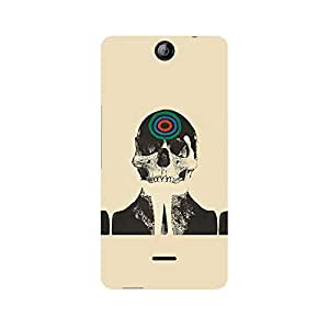Ebby Skull Target Premium Printed Case For Micromax Canvas Juice 3 Q392