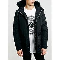 Bellfield - Men's Oxide Faux Sheepskin Lined Jacket