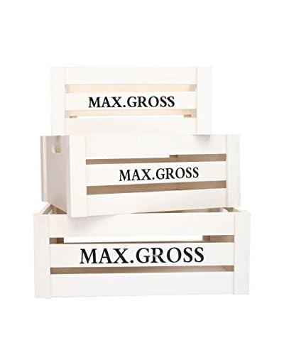 LO + demoda opbergdoos set van 3 Max . Gross