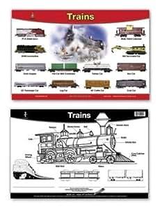 Trains Placemat